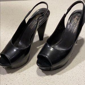 Donald J Pliner platform sandal heels